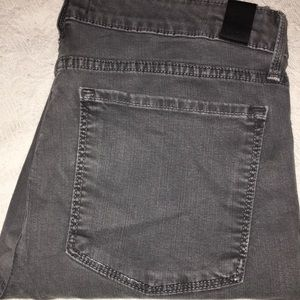 Vince Grey Stretch Super Skinny Jeans